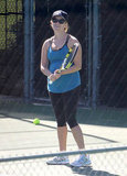 Reese Witherspoon was all smiles as she enjoyed a game of tennis.