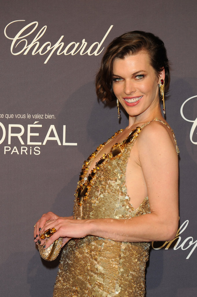 Milla Jovovich Tells Us Her Cannes Highlight During a Night With Heidi, Alec, and the Hiltons