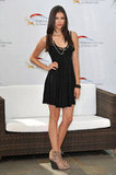 You could easily wear Nina's LBD-and-wedge-sandal look here — as seen at her Monte Carlo TV festival appearance in 2010.