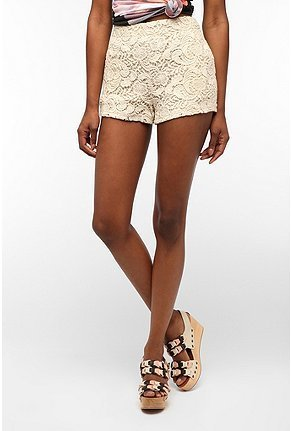 What's sweeter than crochet shorts? Wear them with a tank and chambray button-down for a cute Summer day look. Staring At Stars Mariposa Short ($59)