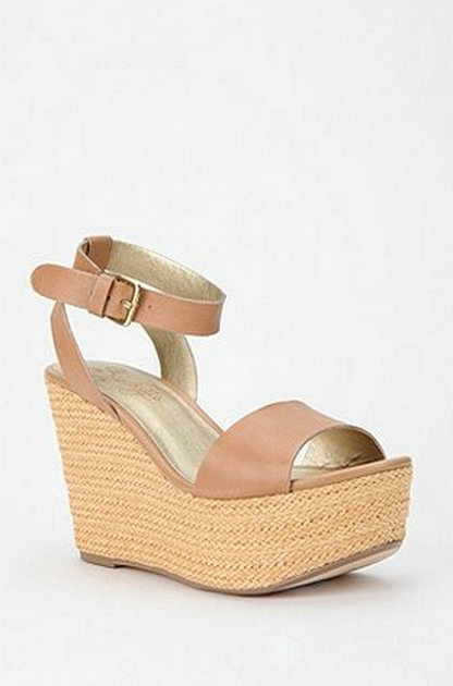 Thanks to a simple, sophisticated shape and clean lines, you'll be able to wear these wedges again and again.  Seychelles Espadrille Wedges ($100)