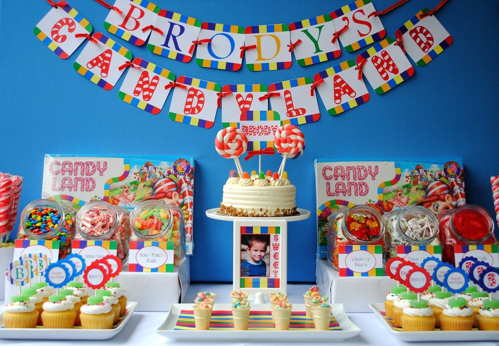 Birthday Invitation Headquarters: Candyland Birthday Invitations