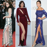 Cannes Celebrity Trend Alert: Side Slits Rule!