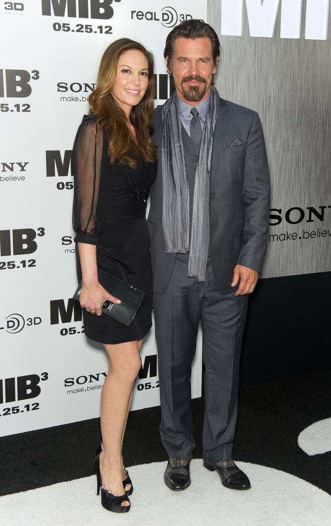 Josh Brolin and Diane Lane attended the Men in Black III premiere in NYC.