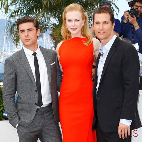 Nicole Kidman, Zac Efron and Matthew McConaughey Pictures at 2012 Cannes Film Festival Paperboy Photo Call