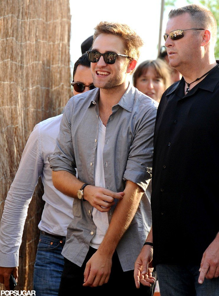 Robert Pattinson Is All Smiles to Chat Cosmopolis at Cannes