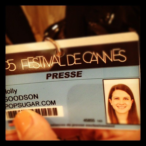 The fun began when Molly got her press pass.