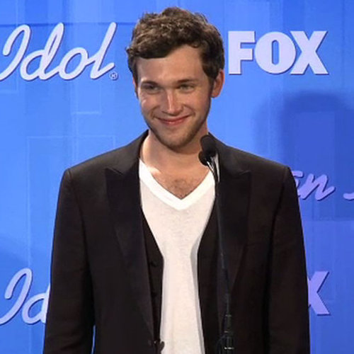 Phillip Phillips Backstage American Idol Interview Video