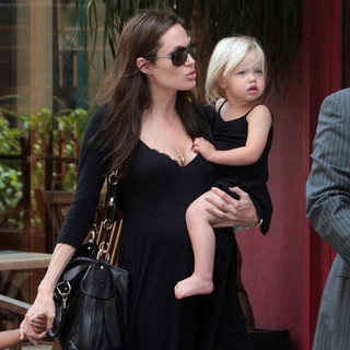 Shiloh Jolie-Pitt With Brad Pitt and Angelina Jolie Pictures