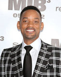 Will Smith looked happy to be at the Men in Black III premiere in NYC.