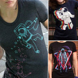 10 Astronaut Tees to Celebrate Sally Ride, the First American Female in Space