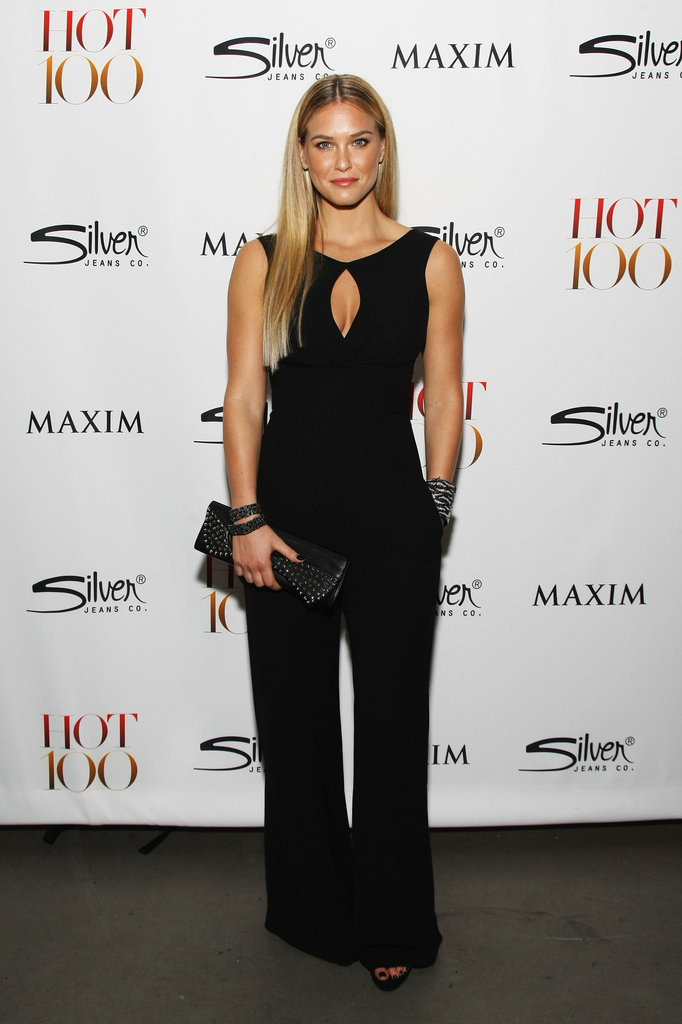 Bar Refaeli came out to celebrate her top spot on the Maxim Hot 100 List in NYC.