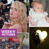 Kate Upton Kisses at Cannes, Princess Estelle Is Christened, and Zara Phillips Carries the Olympic Torch