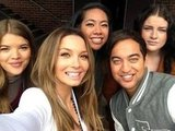 Ricki-Lee Coulter reunited with Team Seal from The Voice, who she helped mentor. Source: Twitter user TheRickiLee