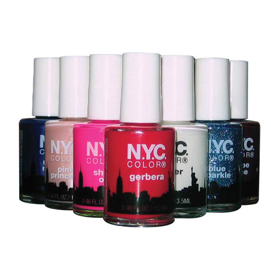 N.Y.C. Color Nail Polish, $2.50 each