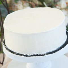 Italian Buttercream &amp; How To Frost a Cake