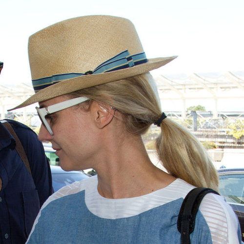 Diane Kruger at the Nice Airport