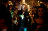 Alec Baldwin in Rock of Ages. Photos courtesy of Warner Bros.