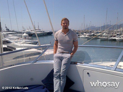 Kellan Lutz hit the open sea during his time in Cannes. Source: WhoSay user Kellan Lutz