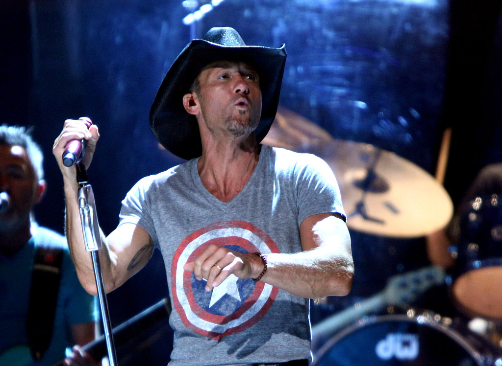 Tim McGraw performed a special show at NYC's Beacon Theatre.