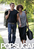 Halle Berry and Olivier Martinez spent Memorial Day weekend together in LA.