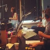 Leighton Meester performed live at radio station 95.7 in Seattle. Source: Instagram user shahine