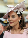 Kate Middleton looked lovely in light pink.
