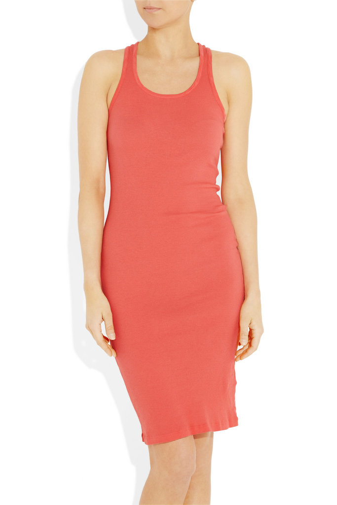 A basic layering piece in a pretty coral hue.  Splendid Tomboy Dress ($45, originally $64)