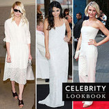 The White Stuff: Celebs Suit Up in Summer's Classic Hue
