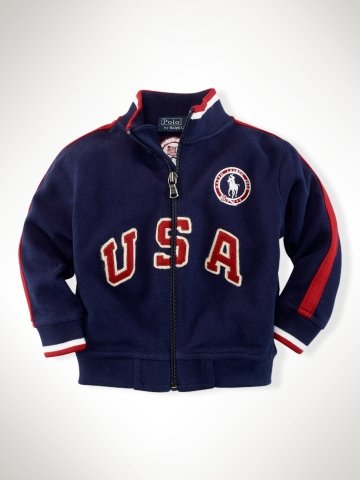 Infant Boys Team USA Track Jacket ($70)