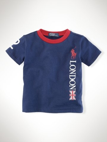 Infant Boys Team USA London Ringer Tee ($20)