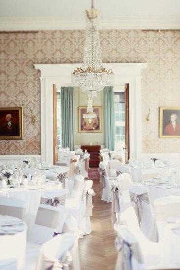 Scottish Castle Wedding Reception