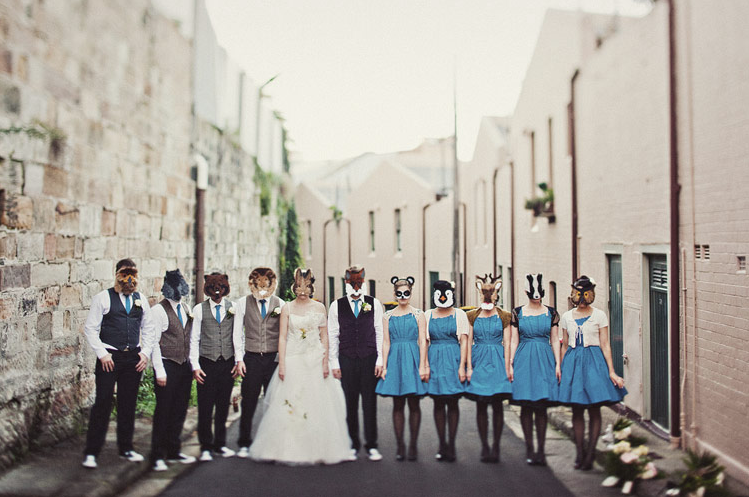 Enchanted Forest Bridal Party