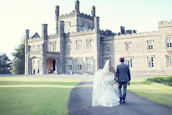 Scottish Castle Wedding Setting