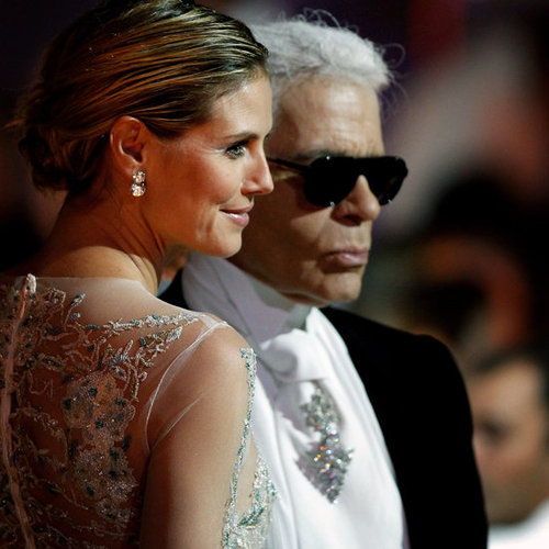 Karl Lagerfeld Doesn't Like Massages