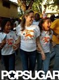 In January 2006, Angelina Jolie linked up with Yéle Haiti for a special philanthropic trip to Port-au-Prince.