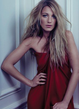 Blake Lively posed for Bullet magazine.