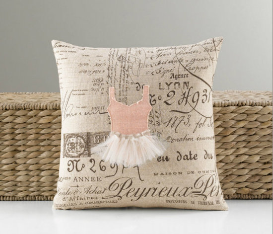 Appliqué Tutu Pillow ($59-$75)
