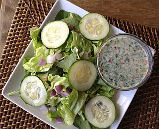 Mint-Tahini Dressing
