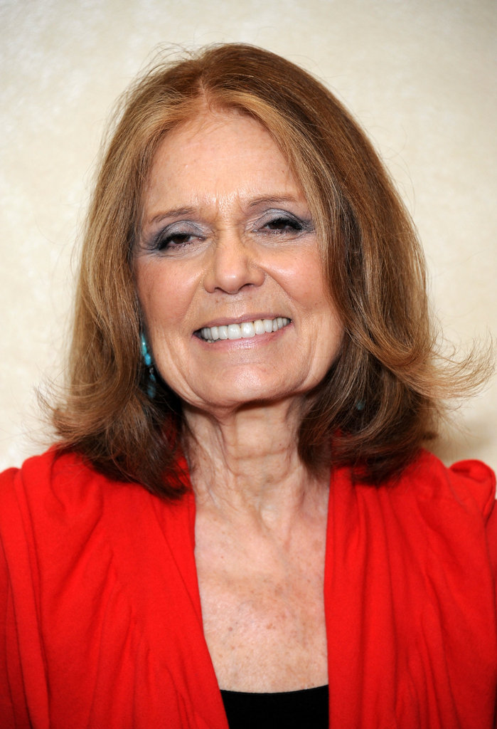 """Two things are happening at the same time . . . One is that this is a time of great danger and we have to look after each other and we have to be aware. But it's also true that perhaps we're about to be free."" — Gloria Steinem at Brown School at Washington University (2012)"