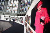 People viewed The Queen & Her Abbey exhibit at Westminster Abbey.