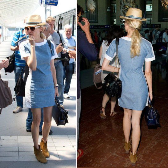 In-Transit Style: Diane Kruger Says Au Revoir to Cannes