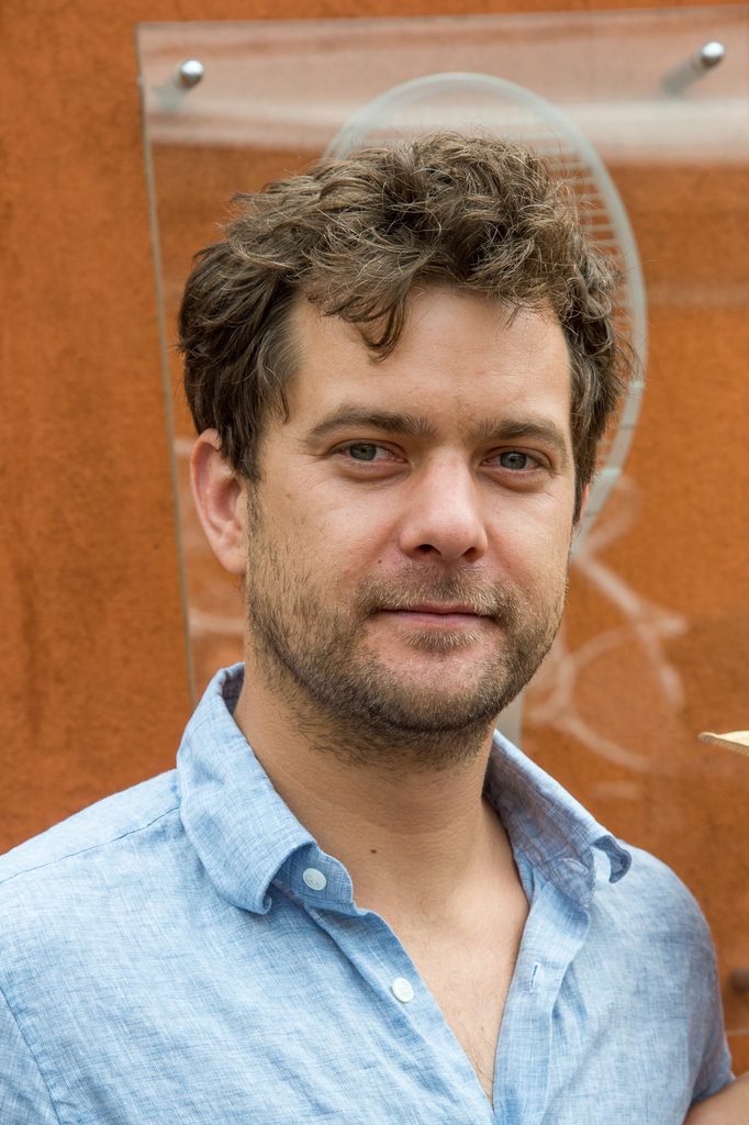 Joshua Jackson smiled for photographers.