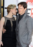Anna Paquin and Stephen Moyer shared a sweet moment on the red carpet.