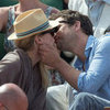 Diane Kruger And Joshua Jackson Giving Sweet PDA At The Tennis