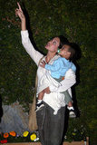Angelina Jolie spent an evening in LA with Maddox Jolie-Pitt in May 2003.