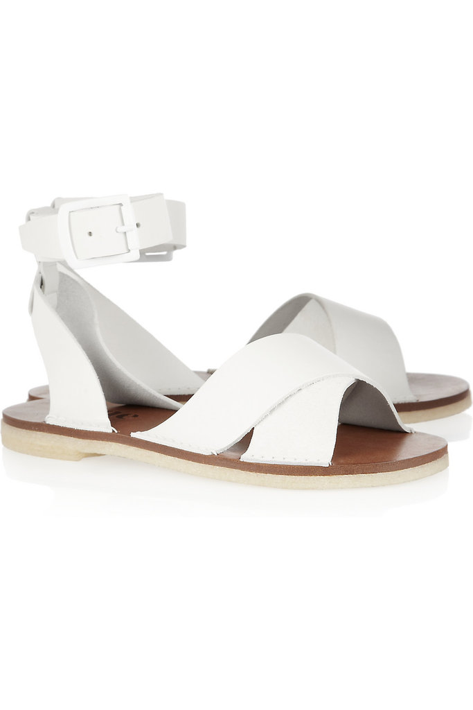 """I plan on wearing flat sandals as much as possible this Summer, so these will be getting a lot of use."" — Brittney Stephens, assistant editor  Acne Capri Leather Sandals ($370)"