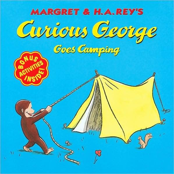 Curious George Goes Camping ($4)
