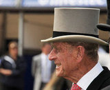 Prince Philip, Duke of Edinburgh, looked on during the 2011 derby.