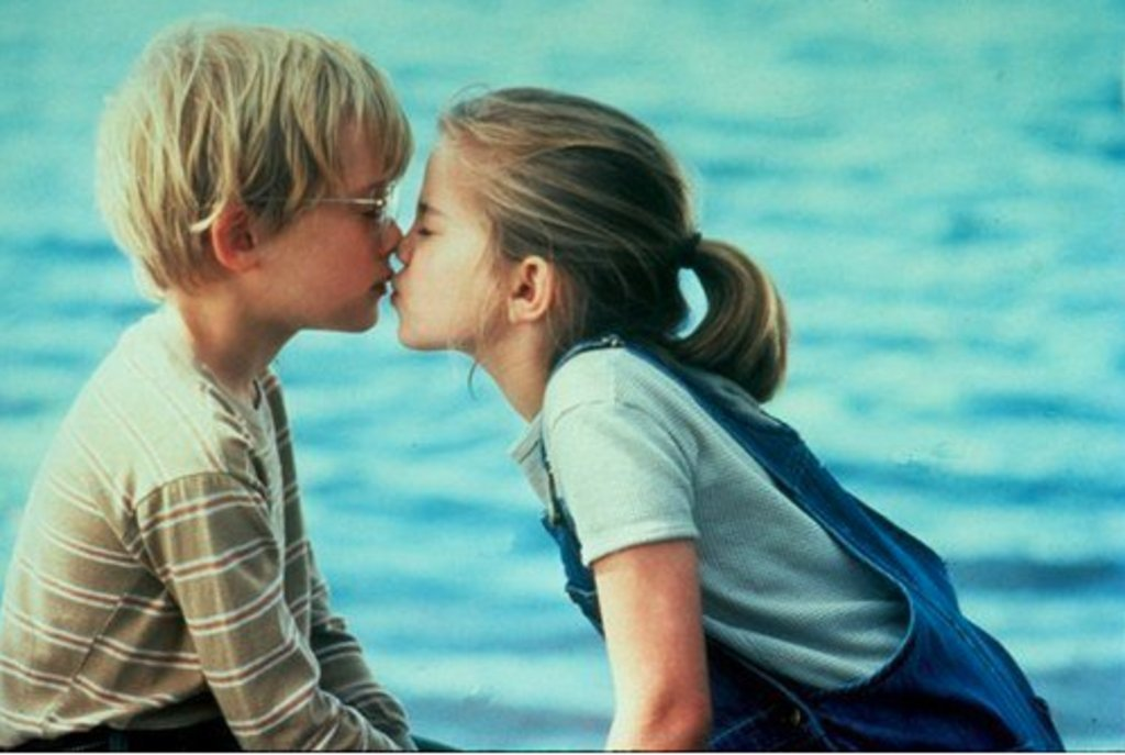 Anna Chlumsky and Macaulay Culkin, 1992